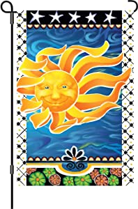 Premier 51437 Garden Brilliance Flag, Radiant Sun, 12 by 18-Inch