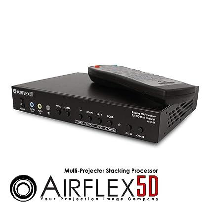 Elite Screens Inc. airflex5d Full HD Dual canal pasivo 3d ...