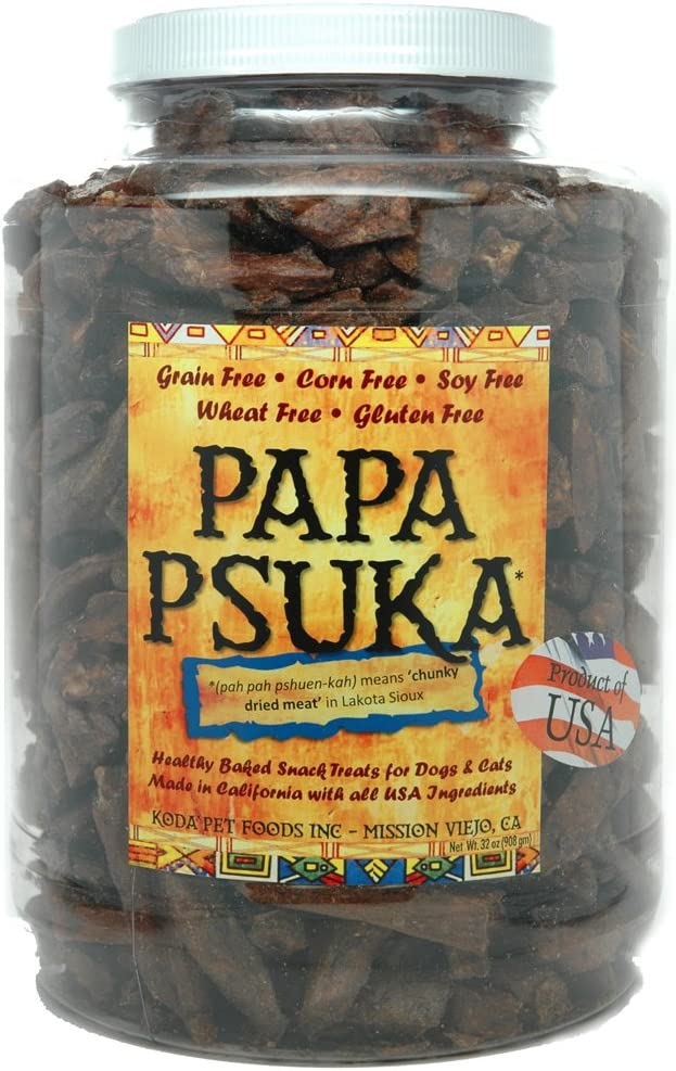 Koda Pet Papa Psuka – Baked Chunky Dried Meat 32oz