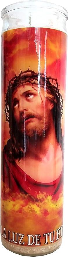 La Luz De Tu Fe Devotional Candle