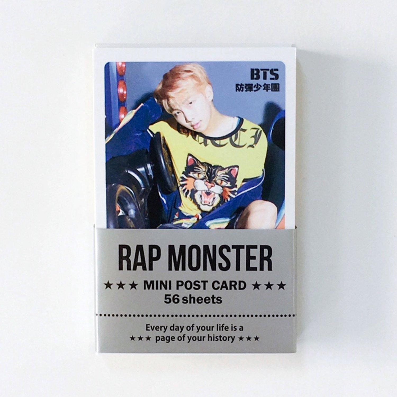 BTS - RAP MONSTER Solo Photocards 56pcs