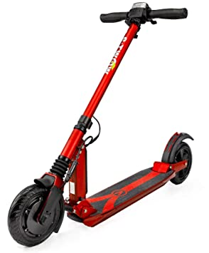 E-Twow Patinete eléctrico Booster V 36V 10,5Ah, Rojo: Amazon ...