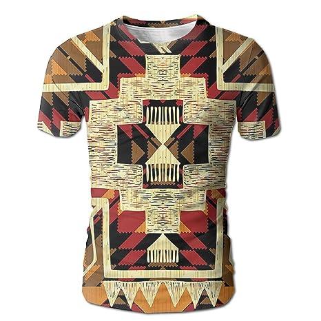 8ba122ce5 Kooiico Men's Arrow Native American Inspired Retro Aztec Pattern Mod  Graphic Design Boho Chic Vintage Tshirts