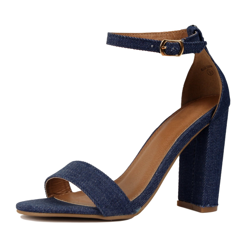 Guilty Shoes レディース B072WDHT55 6 B(M) US|Bluedenim Fabric Bluedenim Fabric 6 B(M) US