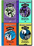 Lemony Snicket All The Wrong Questions 4 Books Collection Pack Set ( Who Could That Be At This Hour?, When Did You See Her Last?, Shouldn't You be in School?, Why Is This Night Different from All Other Nights?)