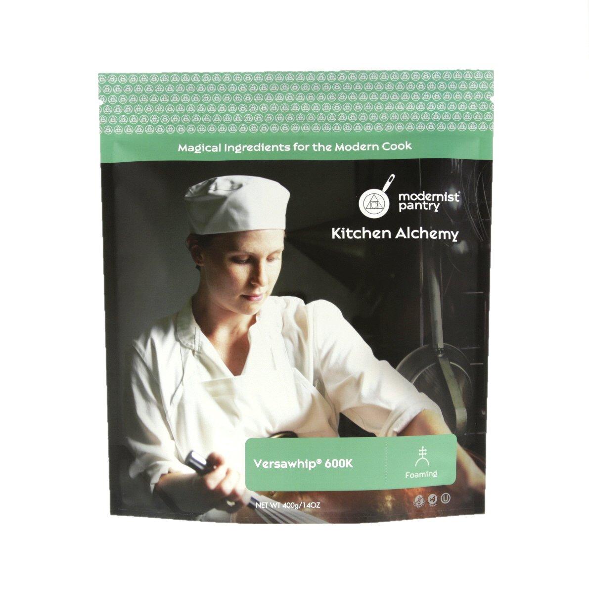 Food Grade VersaWhip 600K (Molecular Gastronomy) ☮ Vegan ✡ OU Kosher Certified - 400g/14oz