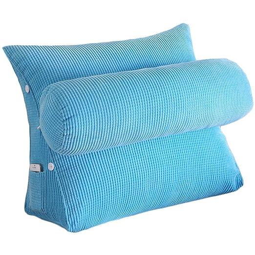 Vercart. Cojín de lectura lavable triangular para sofás ...