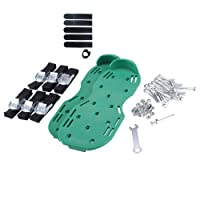 IYAYA Lawn Aerator Shoes Spikes Aerator Sandals for Aerating Your Lawn or Yard