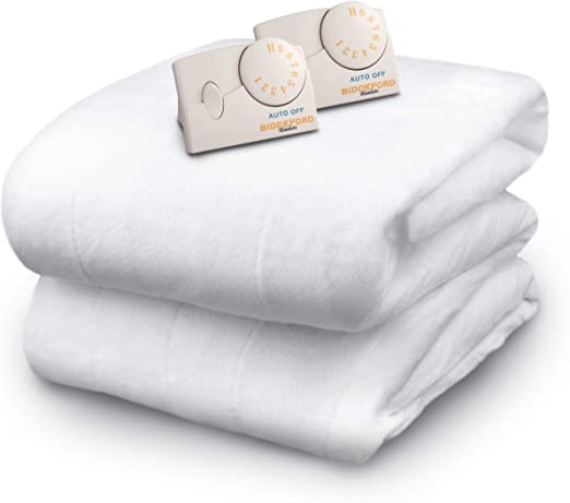 Amazon.com: Biddeford Blankets Polyester Electric Heated Mattress