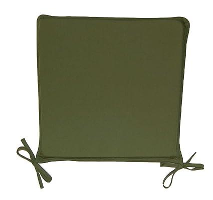 Amazon Com Classic Home Store Plain Square Seat Pad Outdoor Garden