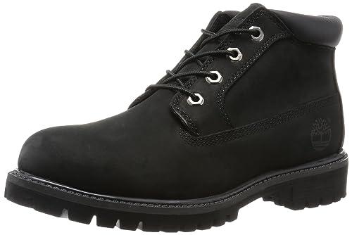 Timberland Anti Fatigue Chukka Black Mens Boots Size 7.5 UK