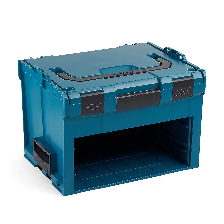 ABS sint/éticos, Negro, Azul Bosch LS-BOXX 306 Professional cajas de herramientas