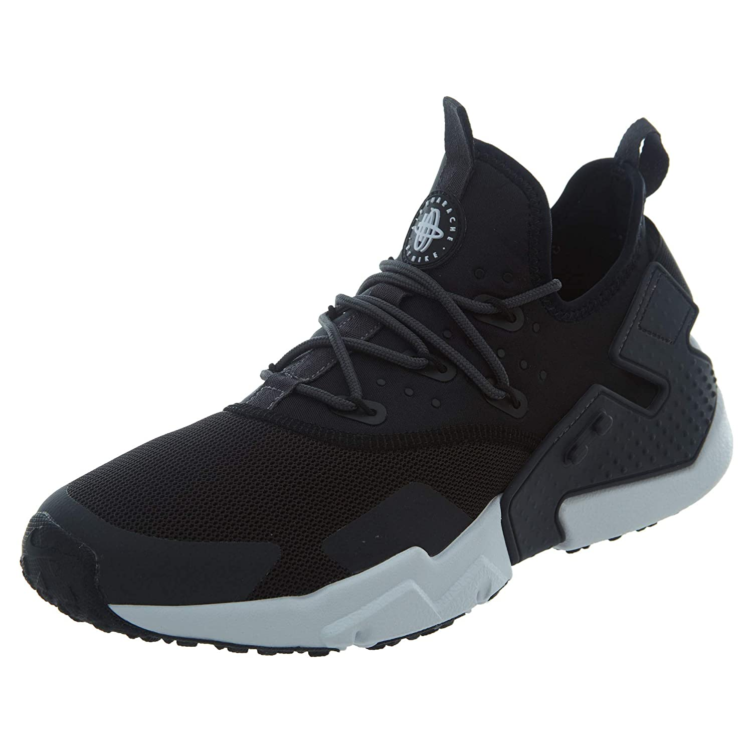 best service d5357 55f3b Amazon.com   Nike Men s Air Huarache Drift Running Shoe, Black Black-Anthracite-White,  8   Athletic