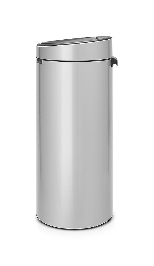 Amazon.com: Brabantia Touch - Papelera (8 galones): Kitchen ...