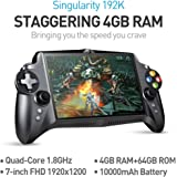 New Version JXD S192K 7 inch 1920X1200 Quad Core 4G/64GB New Handheld Game Player 10000mAh Android 5.1 Bluetooth 4.0 Tablet PC Video Game Console Supports Andriod Games PC Games 18 simulators Games