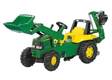 John Deere Ride On Toys >> Rolly John Deere Backhoe Loader Ride On