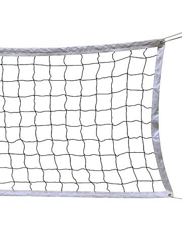 Gazechimp Filet de Volley-ball Taille Standard Officiel Pour Plage Ext/érieur//Int/érieur avec Sac de Rangement
