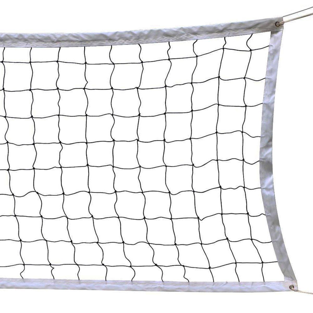 Red de Voleibol, 9.5M * 1M Con un Cable de Acero Cubierta Equipo de Deportes Al Aire Libre Plegable de La Norma Oficial J & L JM00052-01@#JL