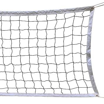 Volleyball Netz, 9.5M * 1 M mit Stahlseil Seil Faltbare Offizielle ...