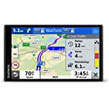 Garmin DriveSmart 65 MT-D 6.95 Inch Sat Nav with Edge to Edge Display, Map Updates for UK, Ireland and Full Europe, Digital Traffic, Bluetooth Hands-free Calling, Voice Commands and Smart Features