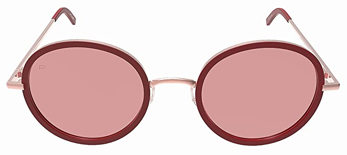 862dde0b82415 PRIVÉ REVAUX Madelaine Collection The Street Handcrafted Designer  Sunglasses (Red)  Amazon.co.uk  Clothing
