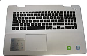 FYTYK Dell Inspiron 7786 Genuine Palmrest with Keyboard and Touchpad