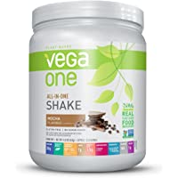 Vega One Plant Protein Powder, Mocha, 14.8oz,