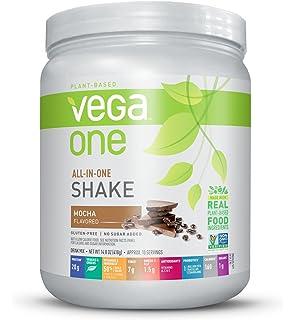 Vega One Plant Protein Powder, Mocha, 14.8 Ounce