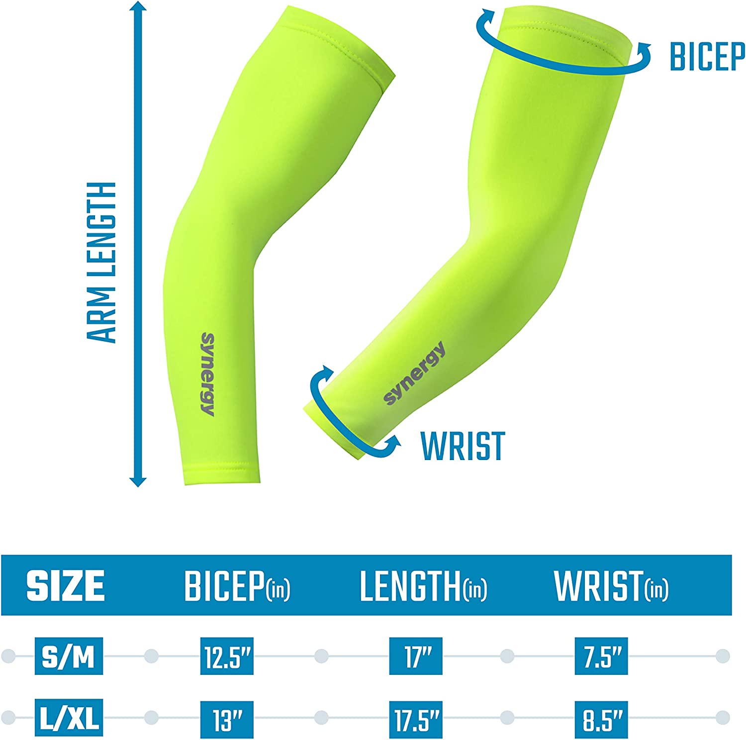 Synergy Cycling Arm Warmers