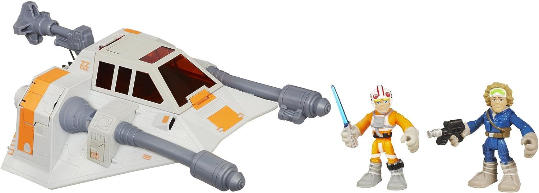 Star Wars Galactic Heroes Exclusive Hoth Luke Skywalker Snow Speeder