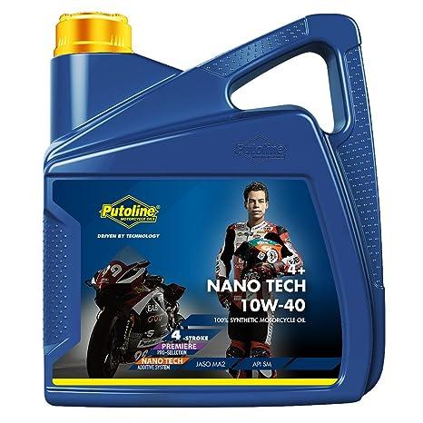 Aceite 4takt Putoline 10 W40 4 litros. Nano Tech 4 + Road vollsynthetisch Honda CBR