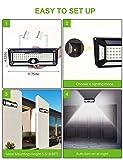 Solar Motion Sensor Light Outdoor - New Upgrade 136 Led Solar Lights Outdoor,Motion Solar Lights Outdoor Waterproof,Led Solar Lights Outdoor Motion Sensor,Super Bright Solar Sensor Lights