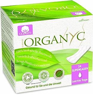 Organyc - Salvaslip - 100% Algodón Biológico - 4 x 24 unidades