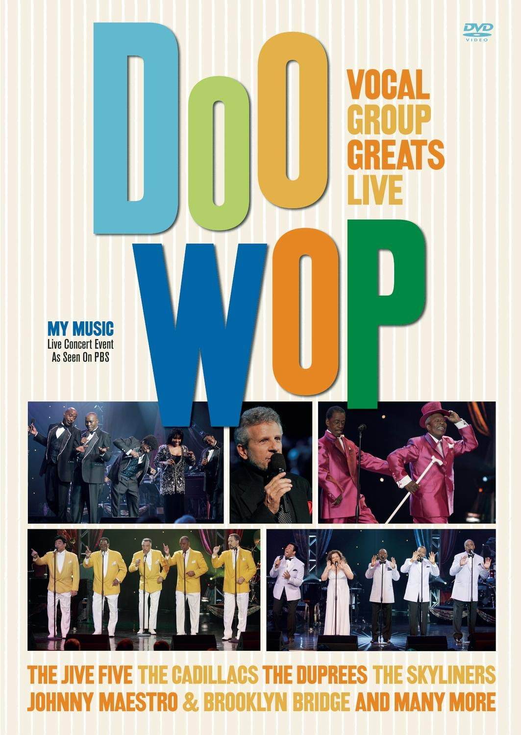 Doo-Wop: Vocal Group Greats Live by Sony