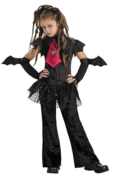 disguise girls bat chick kids child fancy dress party halloween costume l 10