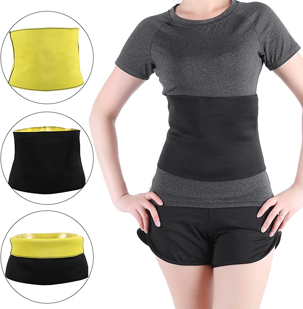 M Belly Slimming Belt Postpartum Loss Weight Body Shaper Tummy Reduce Fat Waist Training 6 size universal for man women Black