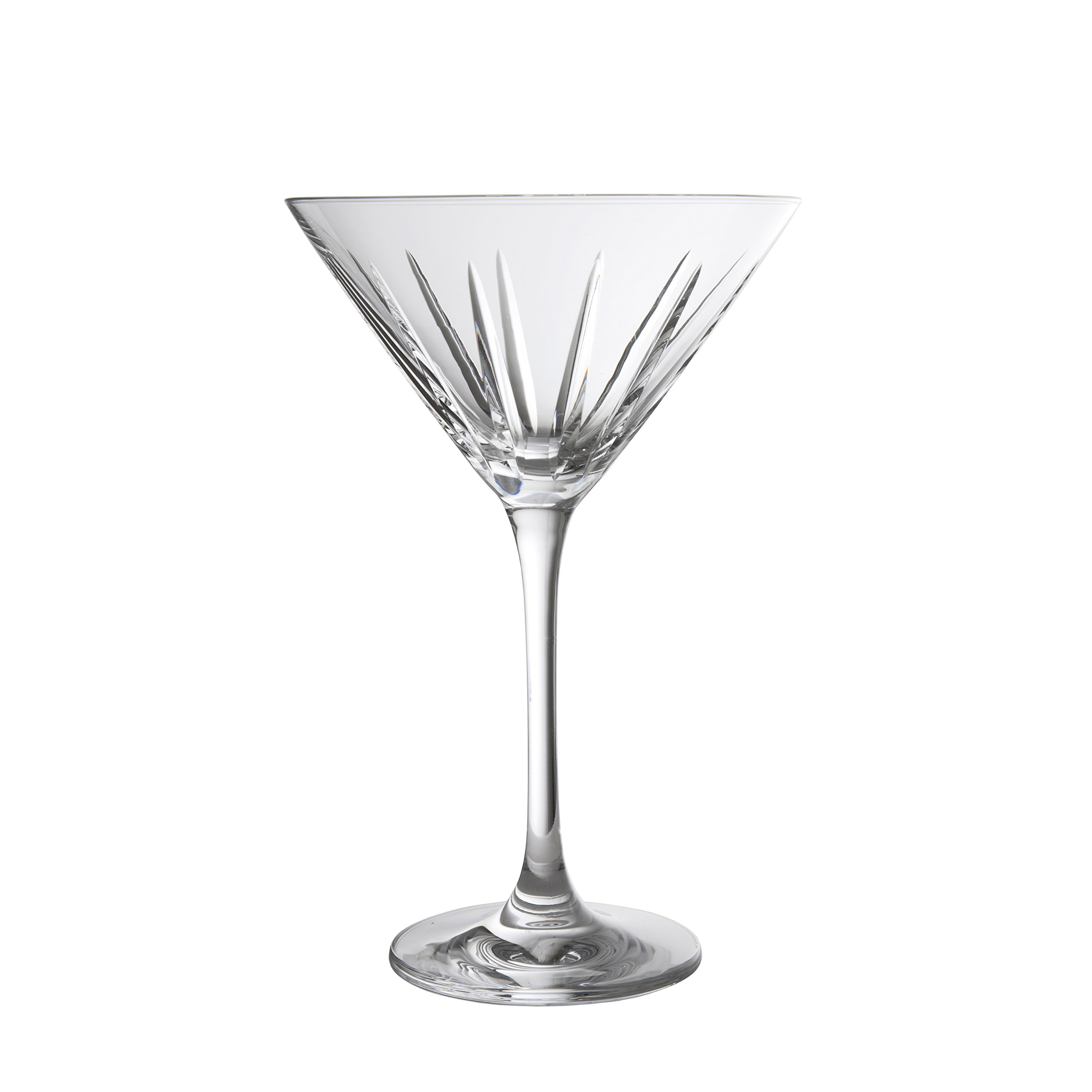 Schott Zwiesel Tritan Crystal Glass Distil Barware Collection Kirkwall Martini Cocktail Glasses (Set of 6), 8.5 oz, Clear