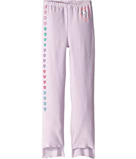 Toddler//Little Kids Chaser Kids Baby Girls Extra Soft Cozy Knit Ruffle Side Leggings