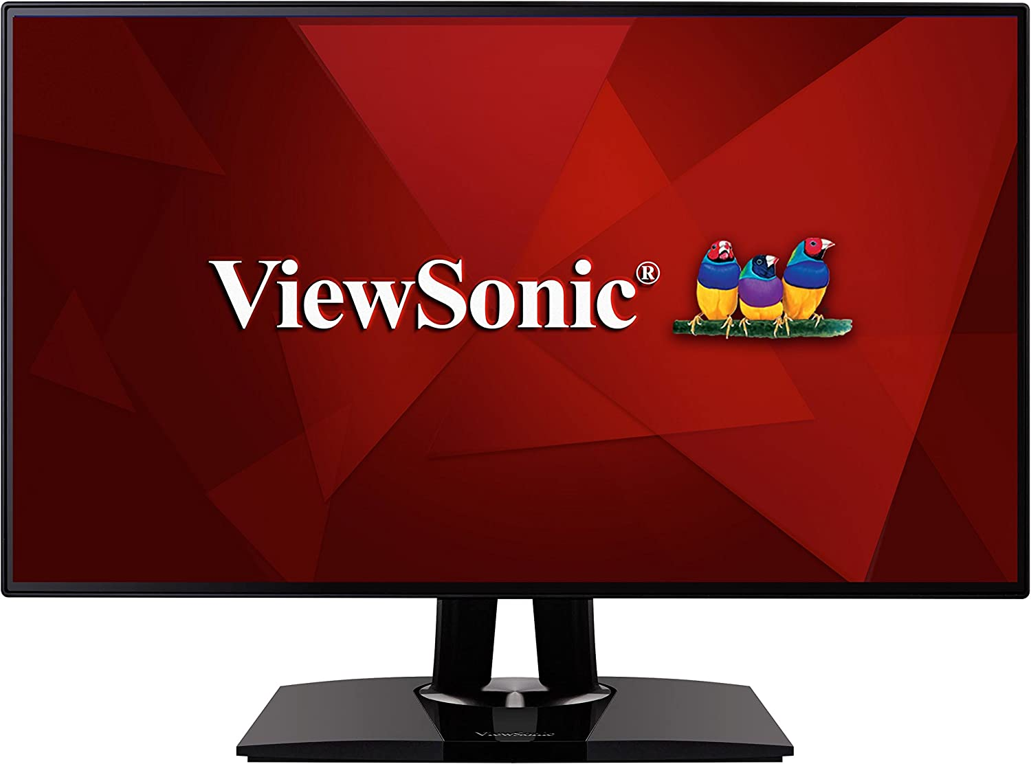 """ViewSonic VP2768 PRO 27"""" 1440p Monitor with 100% sRGB Rec 709 14-bit 3D LUT and Color Calibration for Photography and Graphic Design"""