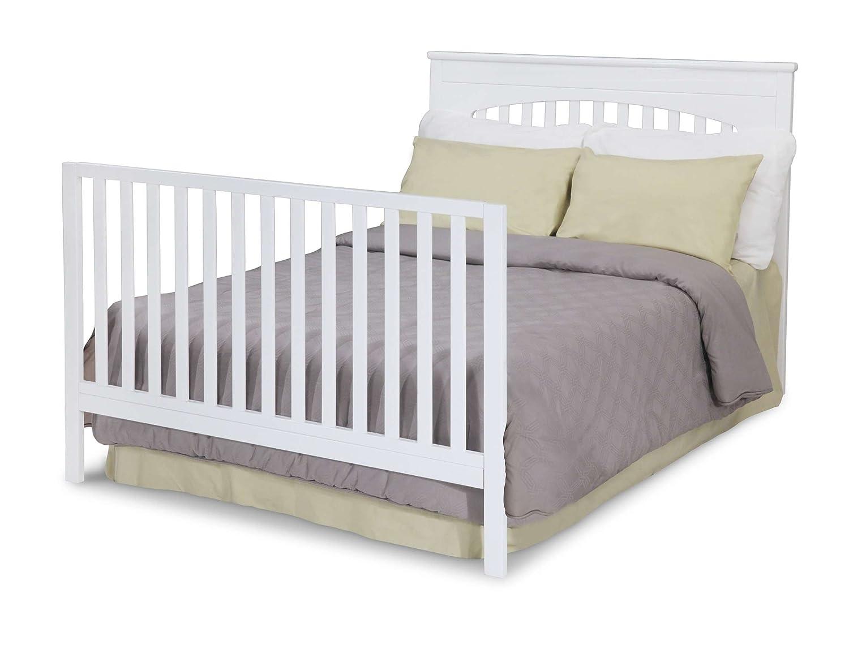amazoncom  delta children layla in crib white  baby -