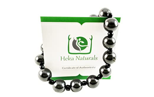 2 opinioni per Heka Naturals–shungite braccialetto Chakra cristallo naturale Elite pietra