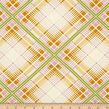 Amazon Com Summer Plaid Tangerine From The Up Parasol Collection By