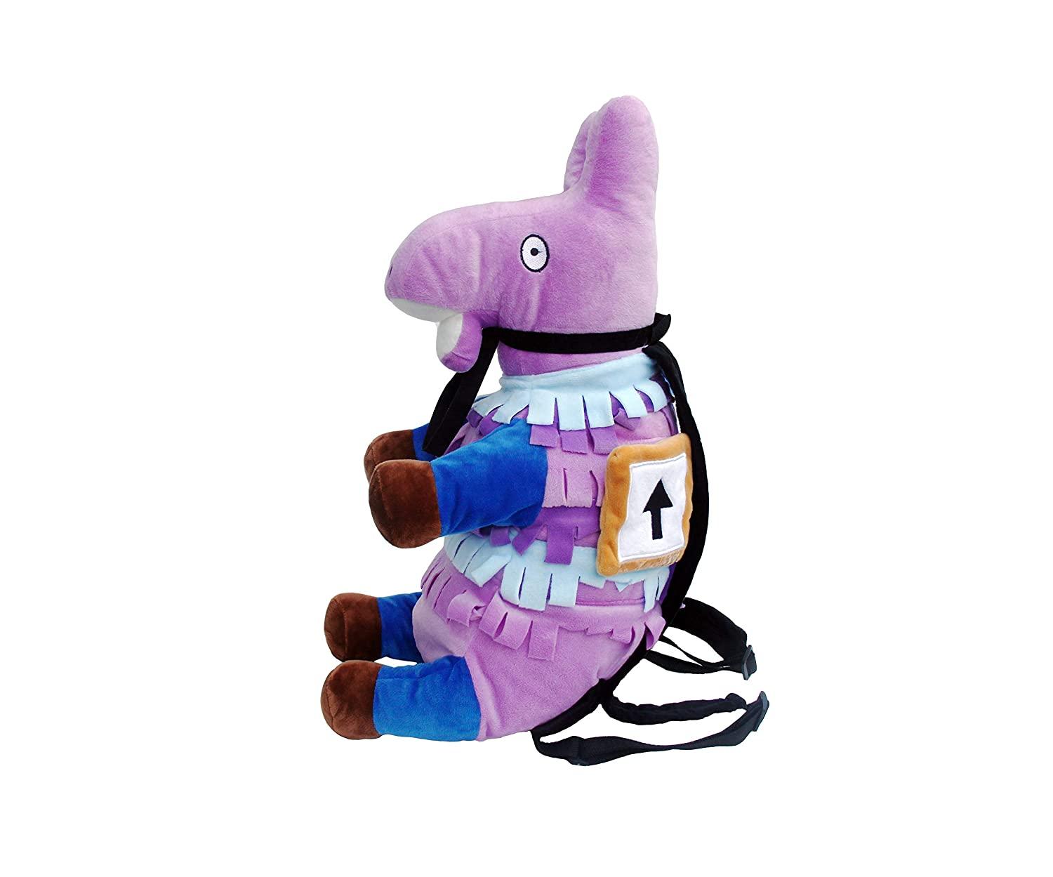 Fortnite Supply Llama Plush Backpack, Rucksack, School Bag for Kids and Adults, Great for School and Travel