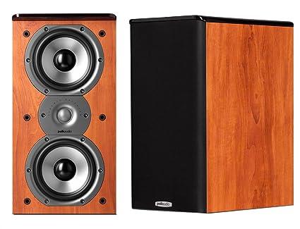 Polk Audio Tsi200 Bookshelf Speakers Pair Cherry
