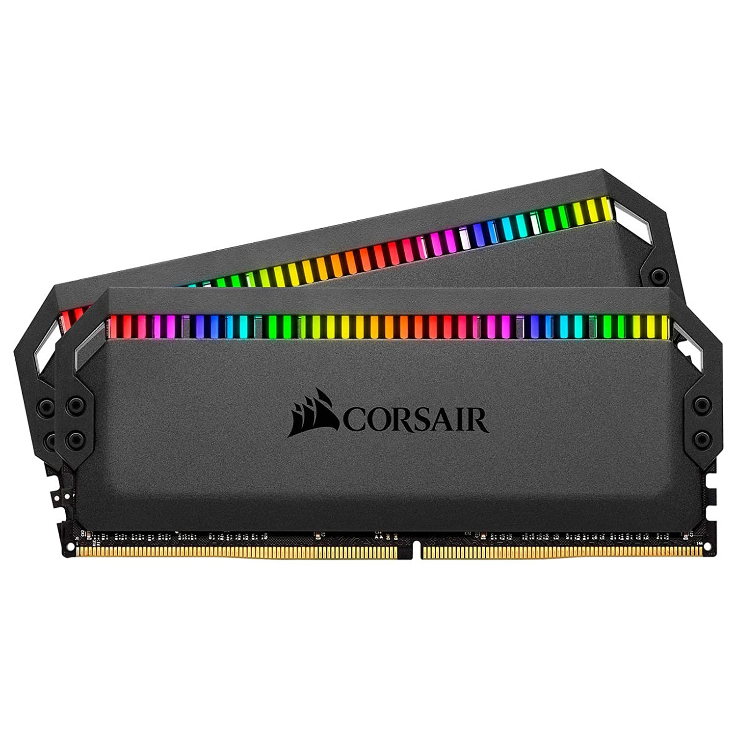 Corsair Dominator Platinum RGB 32GB (2x16GB) DDR4 3200 (PC4-25600) C14 1.35V - Black