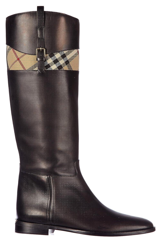 Kaufen Lederstiefel Paxton By Burberry, Damen Stiefel 2563
