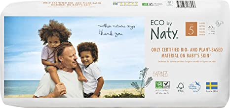 Eco By Naty Couches Jetables Pour Peaux Sensibles Taille 5 11 25