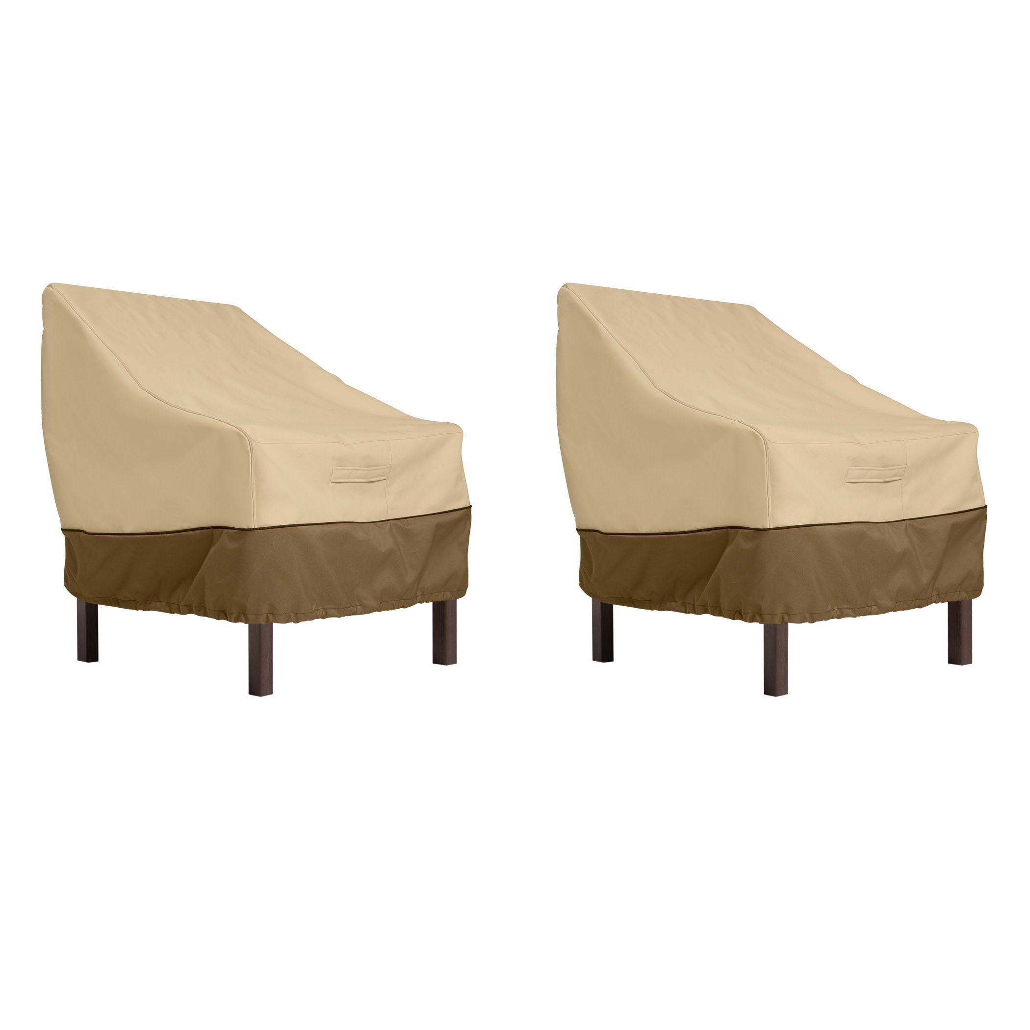 Classic Accessories Veranda Standard Dining Patio Chair Cover (2-Pack)