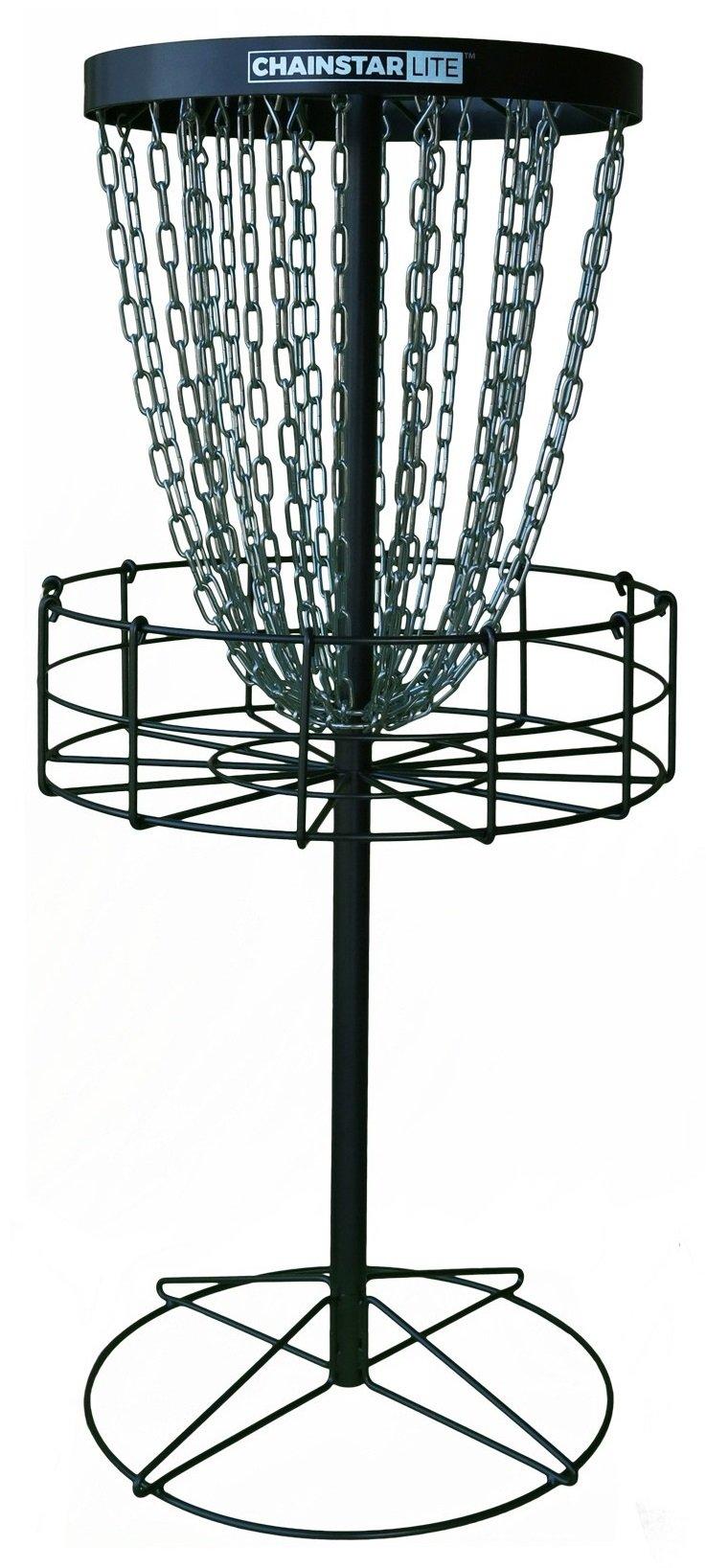 Discraft Chainstar LITE 24-Chain Disc Golf Basket - Silver by Discraft