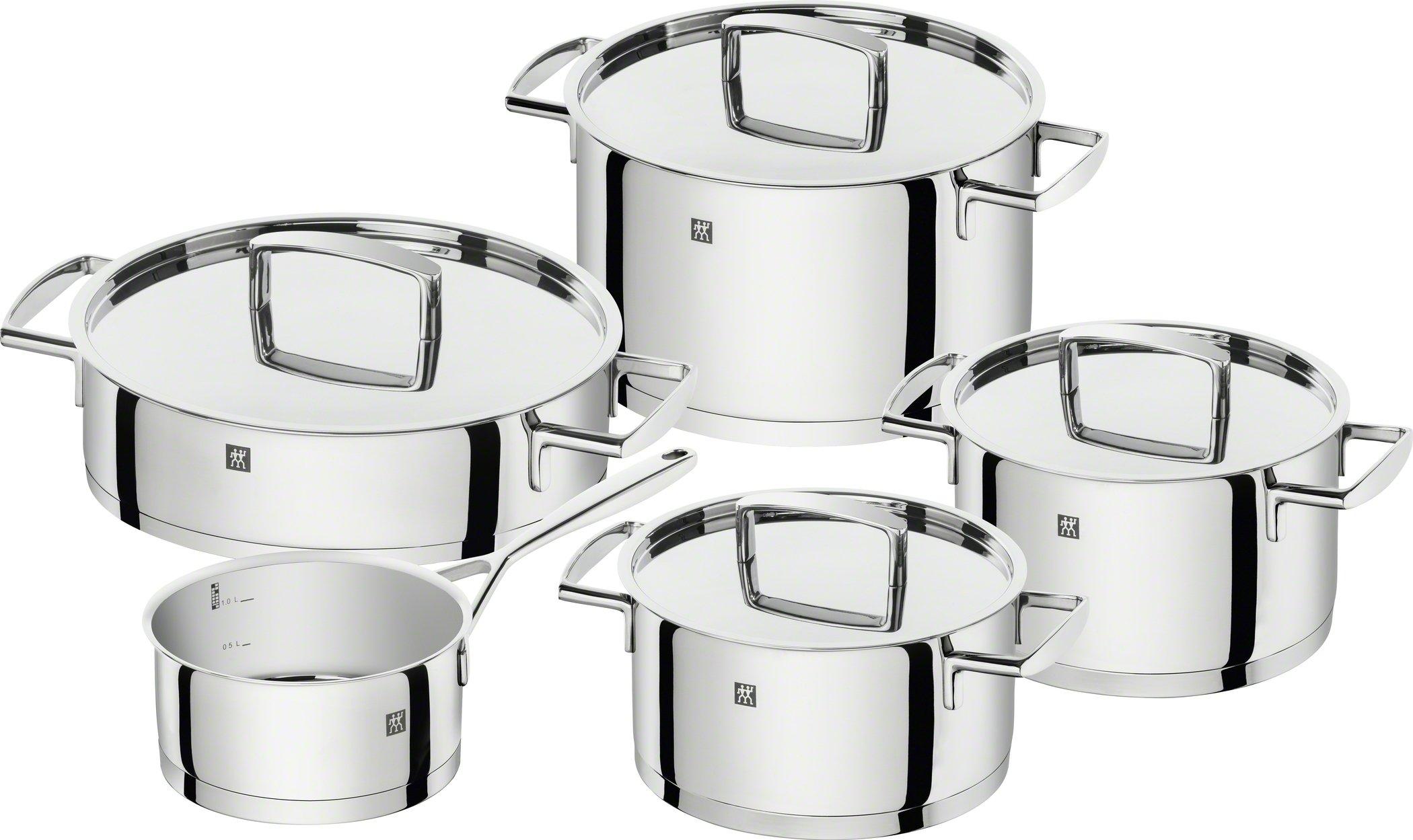 Zwilling Batería de Cocina, Acero Inoxidable, Gris Brillante product image